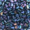 Tiny Flats 5X3.5mm Metallic Blue Aurora Borealis